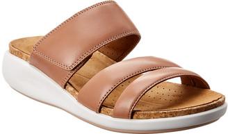 Clarks Un Bali Way Rose Leather Sandal