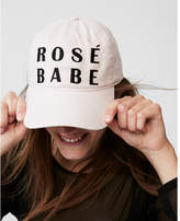 Express rose babe baseball hat