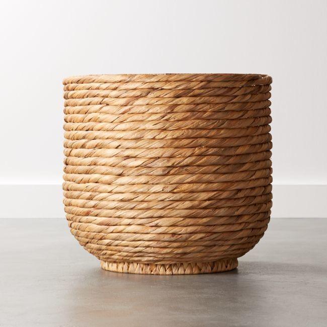 Cb2 Coil Natural Palm Basket