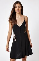 KENDALL + KYLIE Kendall & Kylie Rose Embroidered Button Dress