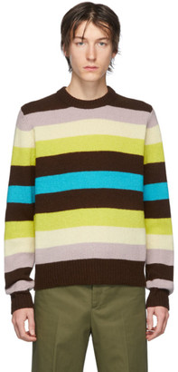 Acne Studios Multicolor Striped Wool Sweater
