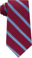 Club Room Men's Collegiate Stripe Silk Tie, Created for Macy's