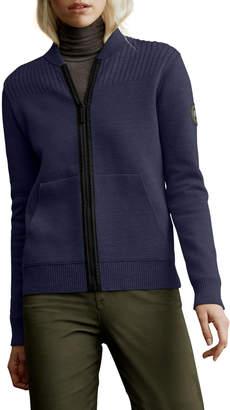 Canada Goose Lennox Knit Bomber Jacket