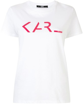 Karl Lagerfeld Paris legend logo T-shirt