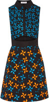 Tanya Taylor Dylan embroidered cotton-blend dress