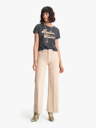 Mother The Patch Pocket Roller Fray - Khaki