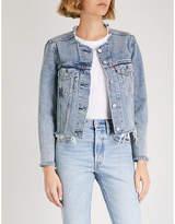 Levi's Altered Zip denim trucker jacket