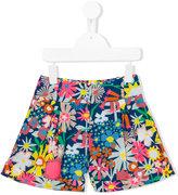 Stella McCartney floral print shorts - kids - Cotton - 6 yrs