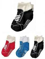 StylesILove.com StylesILove Non Slip Shoes Print Cotton Socks for Baby Boy 3 Pairs