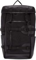 Marcelo Burlon County of Milan Black Murallon Backpack