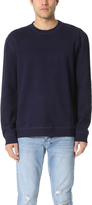 Naked & Famous Denim Crew Neck Sweatshirt