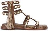 Ash tassel-embellished sandals