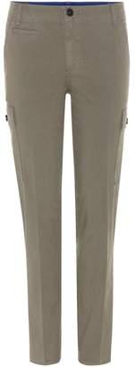 Tory Burch Sierra Chino cotton trousers