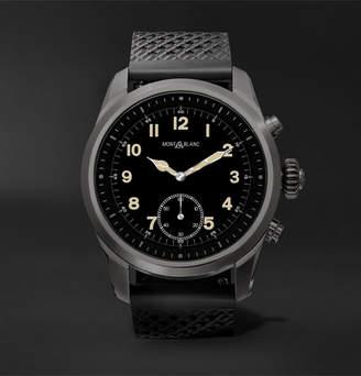 Montblanc Summit 42mm Titanium And Rubber Smart Watch, Ref. No. 119441