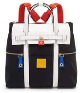 Henri Bendel Jetsetter Convertible Color Blocked Backpack