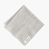 J.Crew The Hill-side® selvedge pocket square in stripe