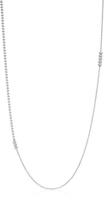 Tiffany & Co. Mixed bead chain in sterling silver