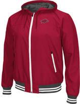 Men's Stadium Arkansas Razorbacks College Black Ice HD Windbreaker Jacket