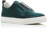 Pierre Hardy Satin Slip On Sneakers
