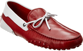 Tod's X Ferrari Gommino Leather Loafer
