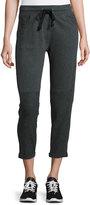 Blu Clover Jackie Drawstring Jogger Pants, Charcoal