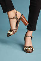 Capsule Collective International Chase Silk Heels