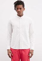 Forever 21 FOREVER 21+ Ad-Lib Multi-Colored Polka Dot Shirt