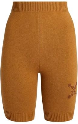 Off-White Knitted Biker Shorts