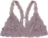 Pure Style Girlfriends Taupe Lace Lined Racerback Bralette