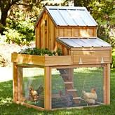 Williams-Sonoma Williams Sonoma Cedar Chicken Coop & Run with Planter