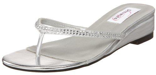 Dyeables Women's Chelsie Thong Dress Sandal