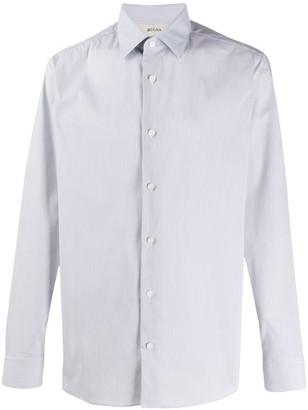 Ermenegildo Zegna Long Sleeve Button Down Shirt
