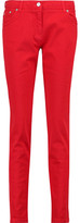 Kenzo Cotton-Blend Twill Skinny Pants