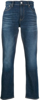 Calvin Klein Jeans Mid-Rise Slim-Fit Jeans