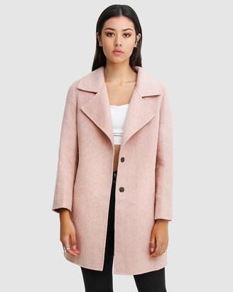 Belle & Bloom Ex-Boyfriend Wool Blend Oversized Coat