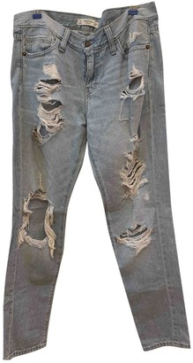 Abercrombie & Fitch Blue Denim - Jeans Trousers for Women