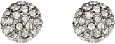 Accessorize Pave Ball Stud Earrings