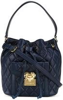Love Moschino quilted bucket tote