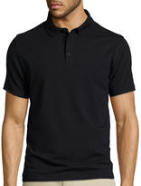 Claiborne Short-Sleeve Slim-Fit Solid Polo