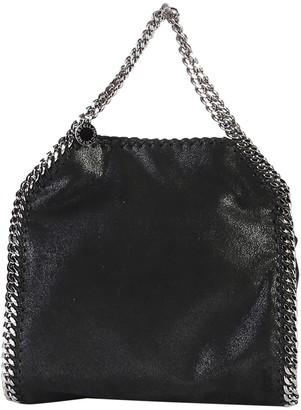 Stella McCartney Black Falabella Mini Triple Chain Bag