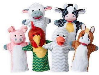 Melissa & Doug 6-Piece Barn Buddies Plush Toys
