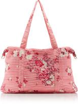 LoveShackFancy Everman Floral Cotton Duffle Bag