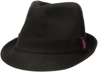U.S. Polo Assn. Tonal Twill Women's Fedora Hat