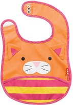 Skip Hop Zoo Tuck Away Bib, Chase