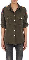 NSF Women's Johnna Shirt-GREEN, DARK GREEN