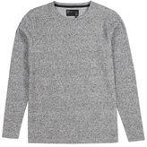 Burton Mens Dissident Denwar White Textured Sweatshirt*