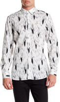 Moschino Long Sleeve Pattern Shirt