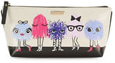 Kate Spade Monster Graphic Print Cosmetic Pouch