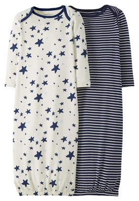 Moon and Back by Hanna Andersson Baby 2-Pack Organic Sleeper Gown
