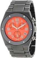 Swiss Legend Men's 10028-BKOSA Throttle Chronograph Textured Dial Watch